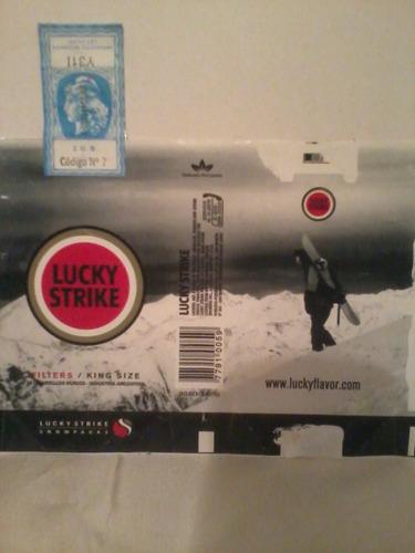 lucky strike - luckyflavor - 4 soft pack