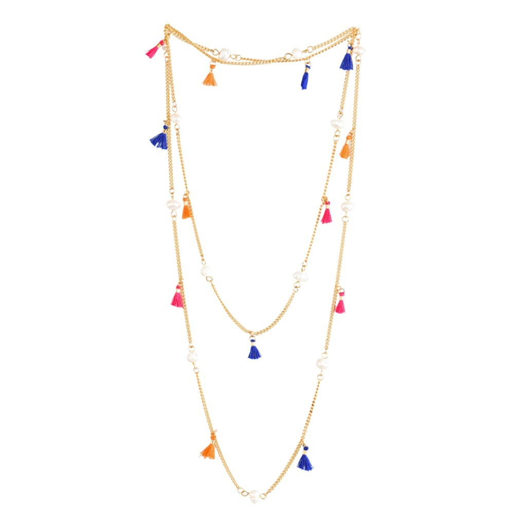 7b50e567e020 Luckyly Collares Largos Moda Monique