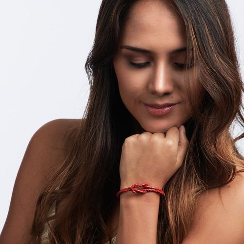 luckyly pulseras mujer de moda ellie, piel, broche magnético