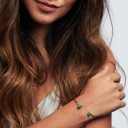 luckyly pulseras mujer oro ivy cuarzo turquesa lapislázuli