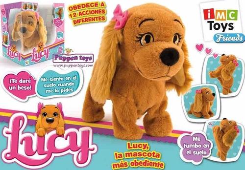 lucy perrita interactiva original de boing toys