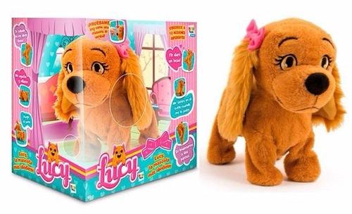 lucy perrita interactivo boing toys entrega imediata