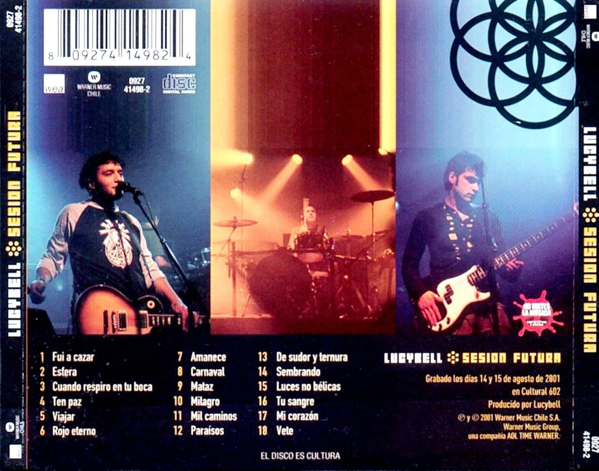 sesion futura lucybell