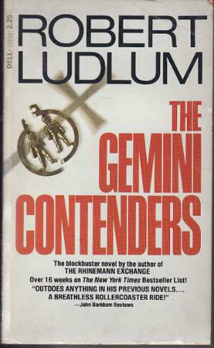 ludlum , tobert - the gemini contenders