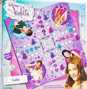 ludo de violetta juego de mesa licencia oficial disney