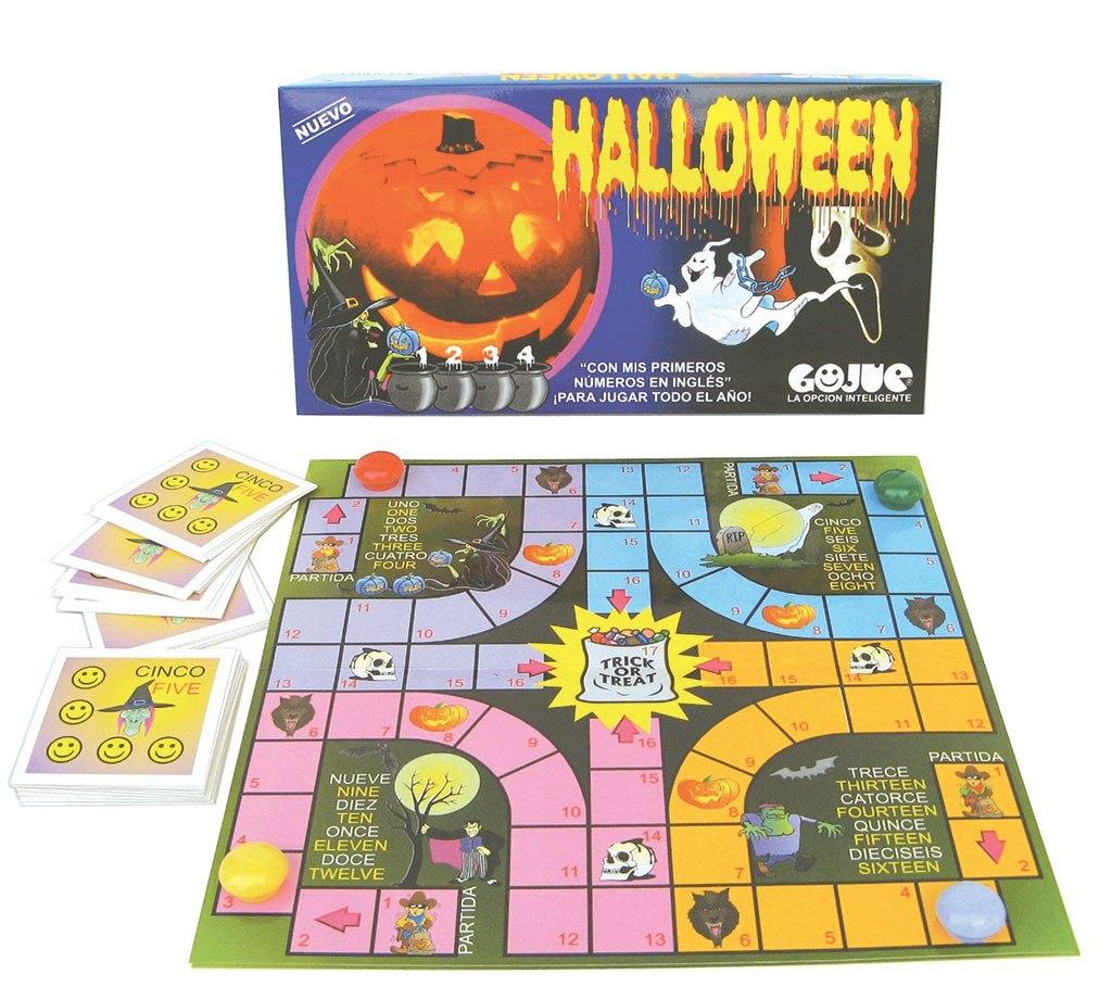 Ludo Halloween Juego De Mesa Gojue 59 00 En Mercado Libre
