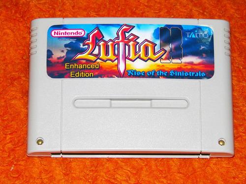 lufia 2 ii - enhanced edition - em inglês - rise sinistrals