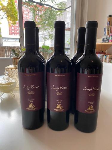 luigi bosca malbec vino 750 ml caja x6 botellas vinodelivery