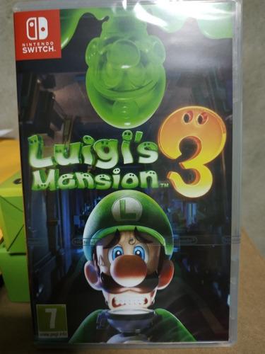 luigi's mansión 3 / nintendo switch