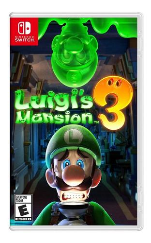 luigis mansion 3 nintendo switch disponible