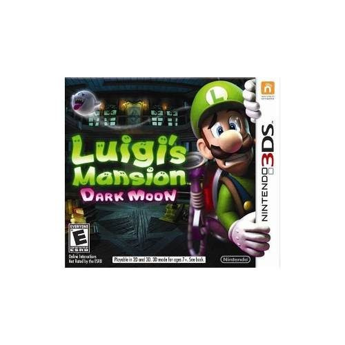 luigis mansion: dark moon - nintendo 3ds