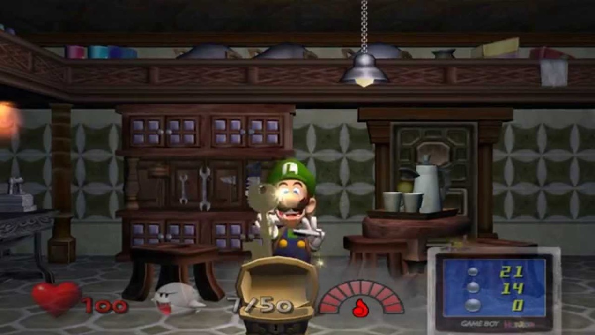 LUIGI'S MANSION Game Cube