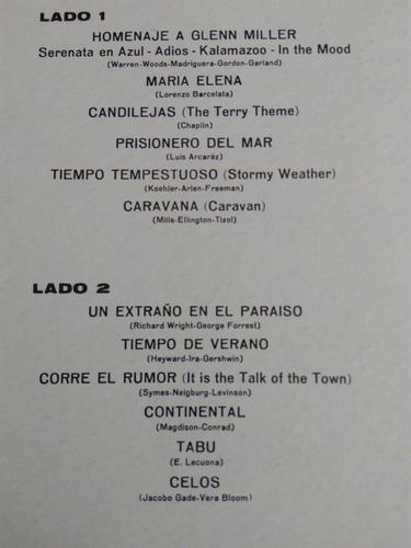 luis arcaraz y su orquesta lp los grandes exitos 1963