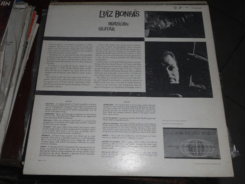 luis bonfas disco de vinyl 12 pulgadas brasilian guitar