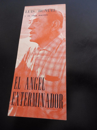 luis buñuel el angel exterminador folleto