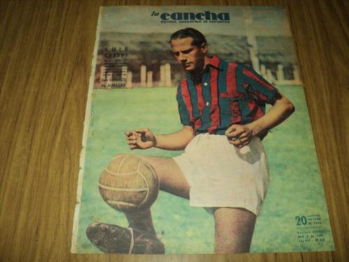luis crespi ( san lorenzo ) la cancha n° 828 / 5 - 4 - 1944