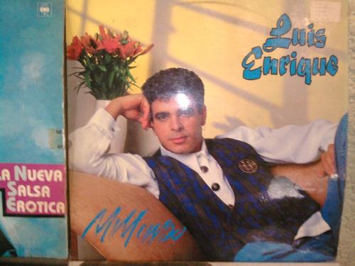 luis enrique coleccion completa en vinil lp salsa años 87-94