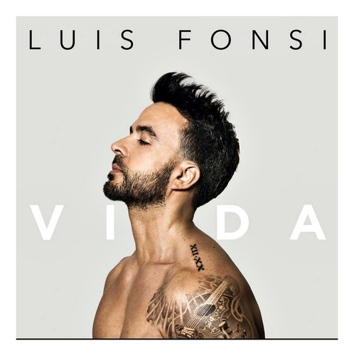 luis fonsi vida cd 2019 original nuevo en stock