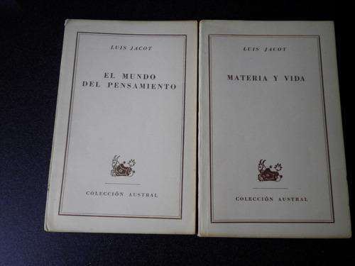 luis jacot  ( 2 libros de ciencias)