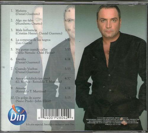 luis jara: dedicado a usted ( cd usado excelente estado)