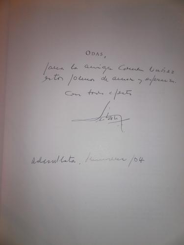 luis maría sobrón: odas. poesias c/nuevo. firmado y dedicado