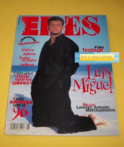 luis miguel aterciopelados revista eres 1995