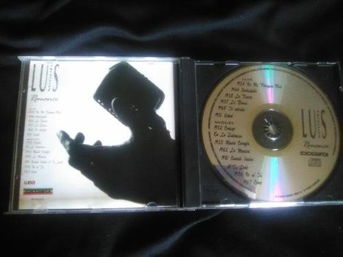 luis miguel cd - romance. pop latino - boleros