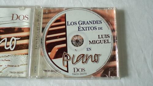 luis miguel exitos en piano vol. 2 cd continental 2007