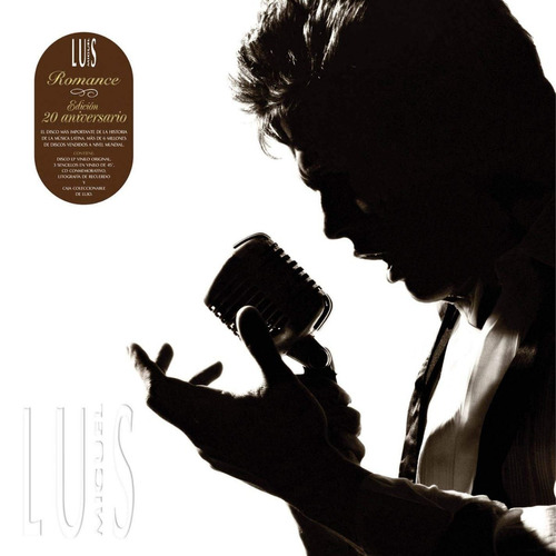 luis miguel - romance 20th anniversary collector's