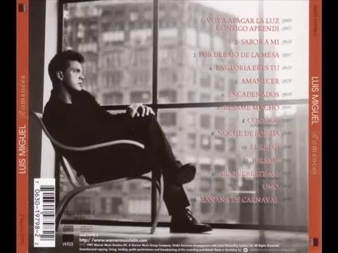 luis miguel - romances - cd