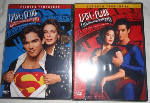 luisa y clark las nuevas aventuras de superman 1 y 2 en dvd