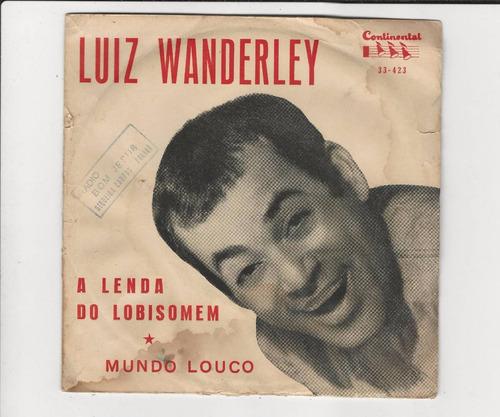 luiz wanderley - a lenda do lobisomen - compacto ep 27
