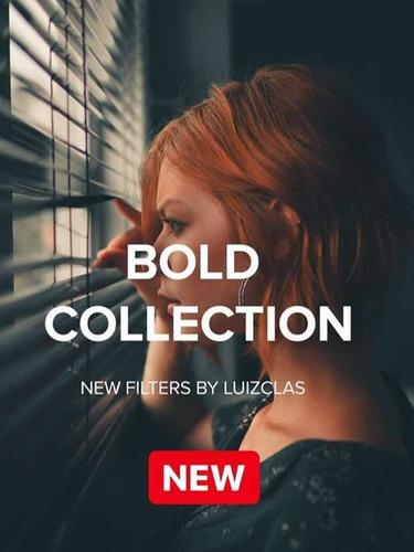 luizclas preset bold collection + brinde