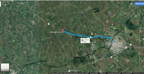 lujan 8 hectareas sobre autopista y ruta 7