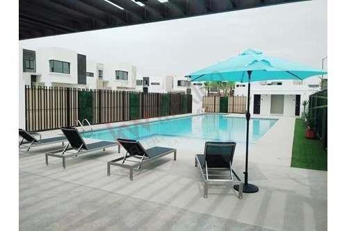 lujosa casa en renta  altaria residencial  cerca de plaza misiones