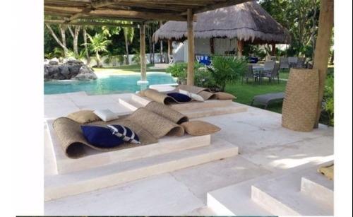 lujosa villa en venta de dos recamaras en cancun c2021
