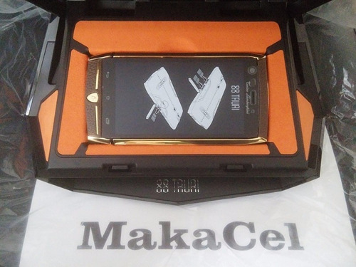 lujoso celular lamborghini 88 tauri, android 20mp 64gb 3 ram