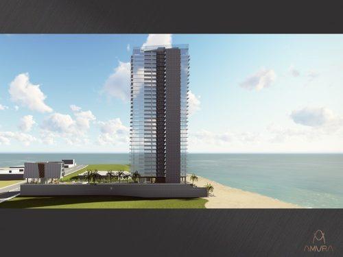 lujoso departamento con vista al mar en venta torre amura