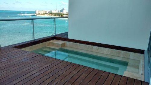 lujoso departamento en venta en zona hotelera