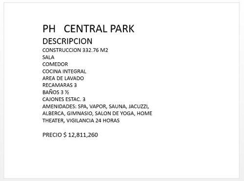 lujoso departamento ph central park