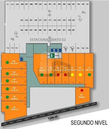 lujoso e innovador local comercial de 67m2, 2do nivel, en venta o renta, en la mejor zona de mérida