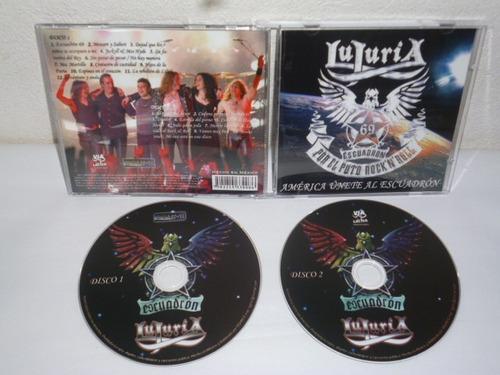 lujuria - américa unete al escuadrón cd doble