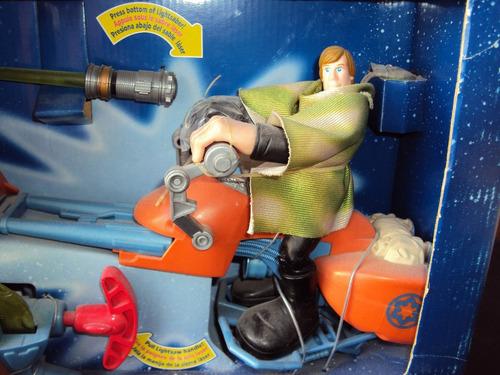 luke skywalker y speeder bike playskool.