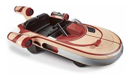 luke skywalker's landspeeder motorized ride on vehicle 12v ®