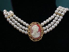 e855378bd925 Collares De Perlas De Cultivo Antiguos en Mercado Libre Uruguay