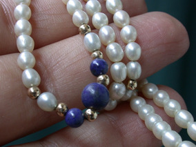 6317dfaf66ec Collar De Perlas Cultivo Oro en Mercado Libre Uruguay