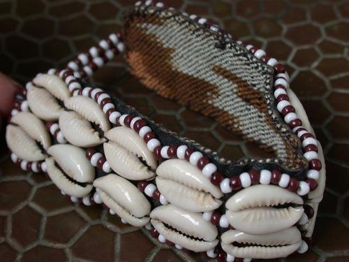 luli herm pulsera brazalete canutillos buzios hecha a mano