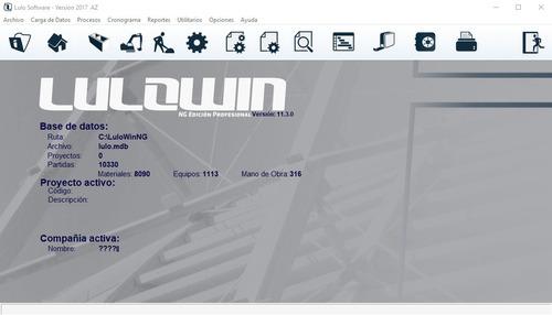 lulowin ng 2017 100% personalizable con bdd marzo 2019 * *