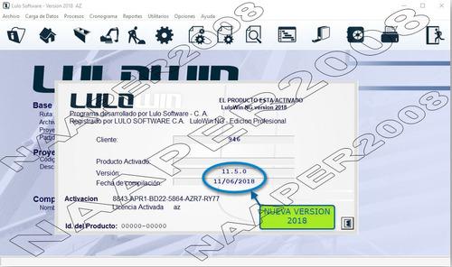 lulowin ng, lulo ng ver 2018 personalizable bdd marzo 2019