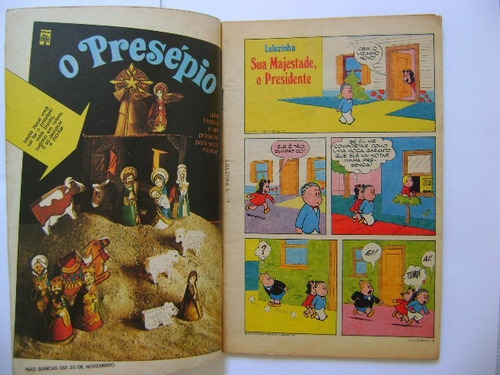 luluzinha  nº17 novembro de 1975 editora abril ótimo!